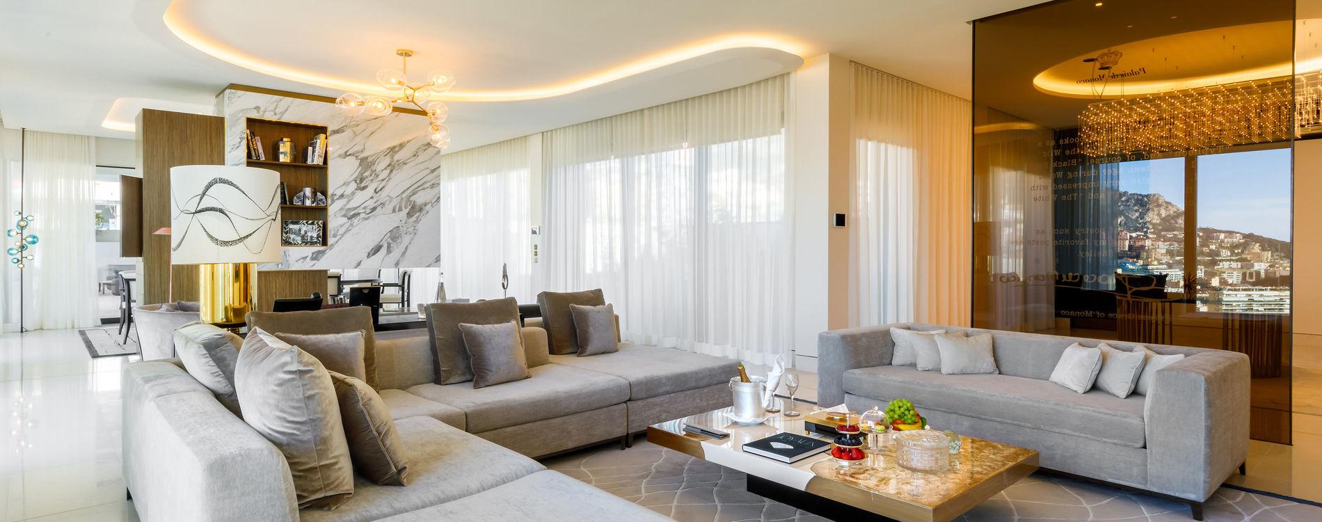 Suite Princesse Grace de l'Hôtel de Paris Monte-Carlo
