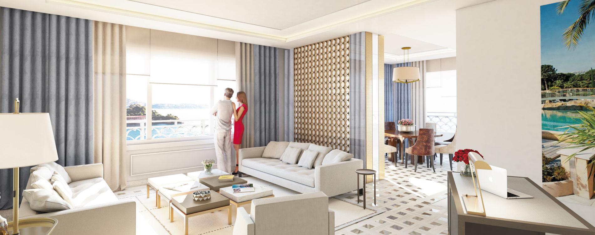 Monte-Carlo Bay - Photo de synthèse de la Suite Eleven