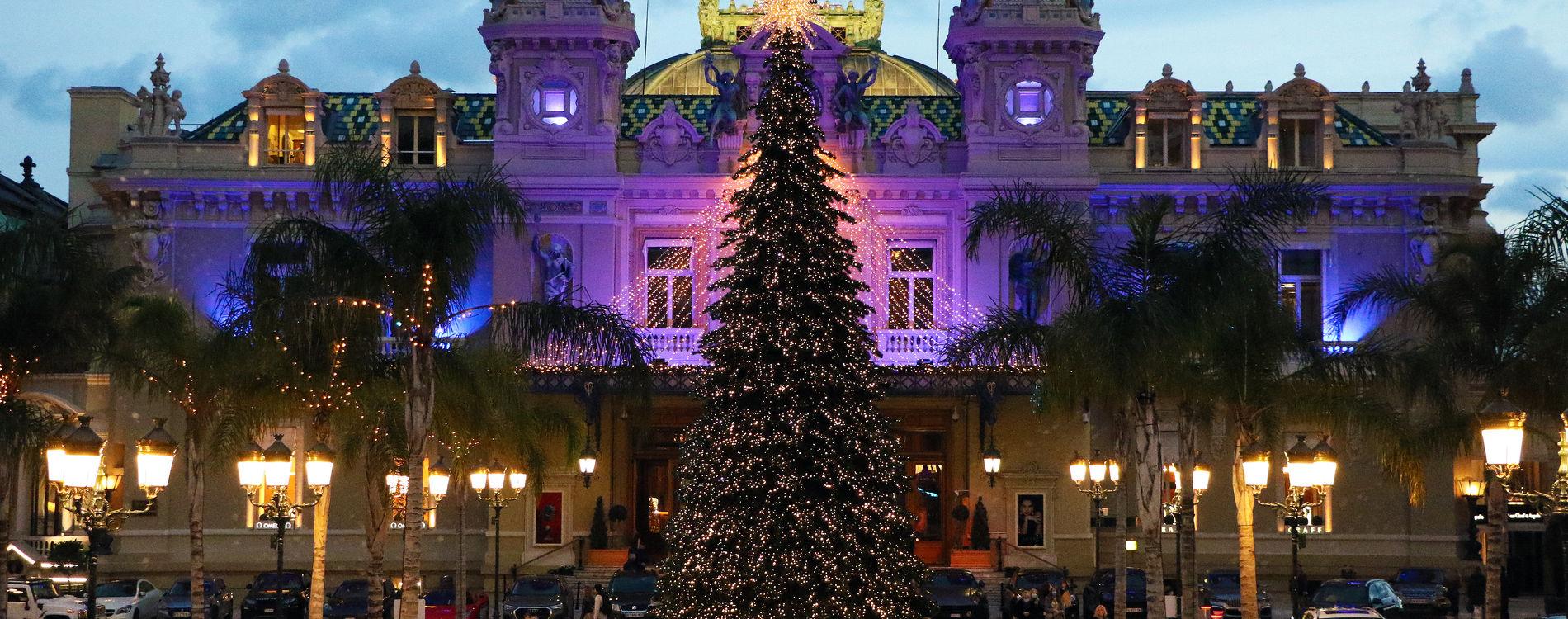 Place du Casino - Décorations de Noël 2020