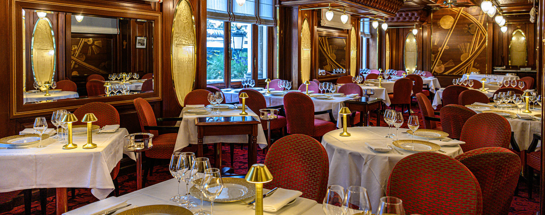 Casino de Monte-Carlo - Restaurant le Train Bleu - 2019