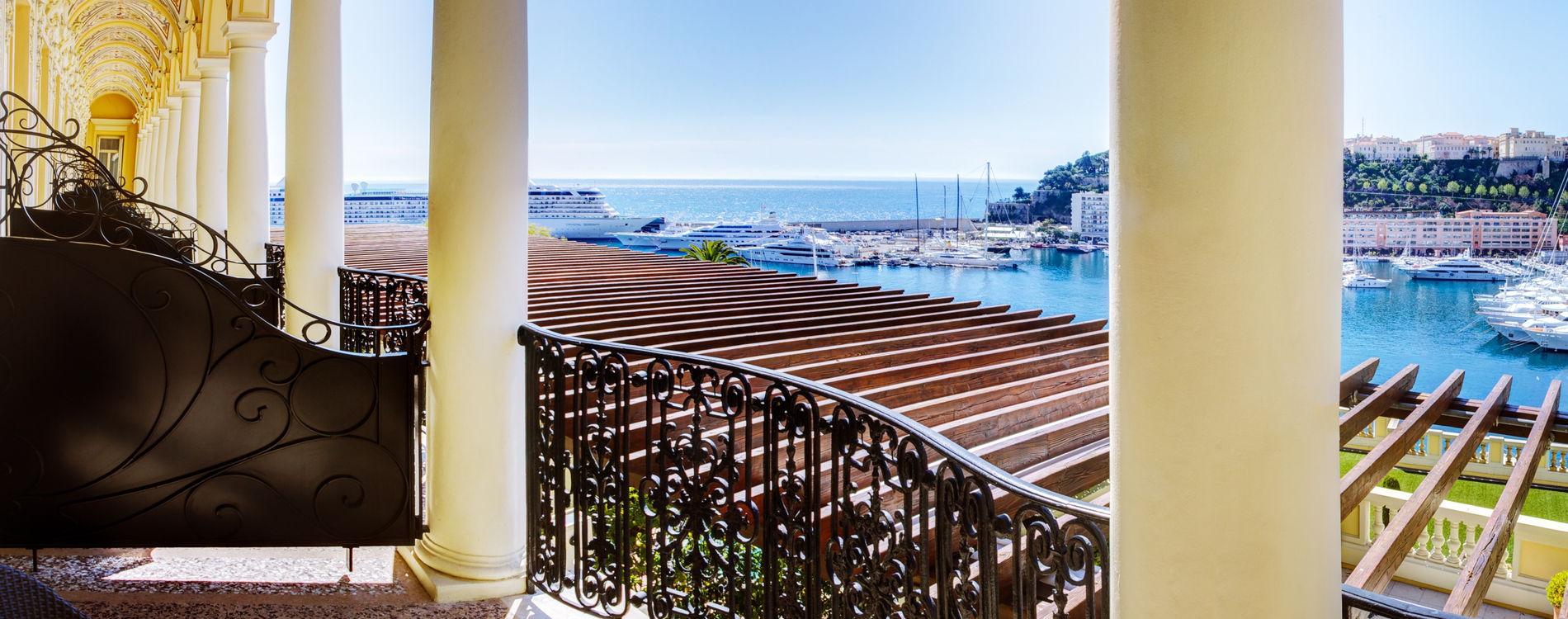 Hôtel Hermitage - Chambre Exclusive - Vue mer avec terrasse