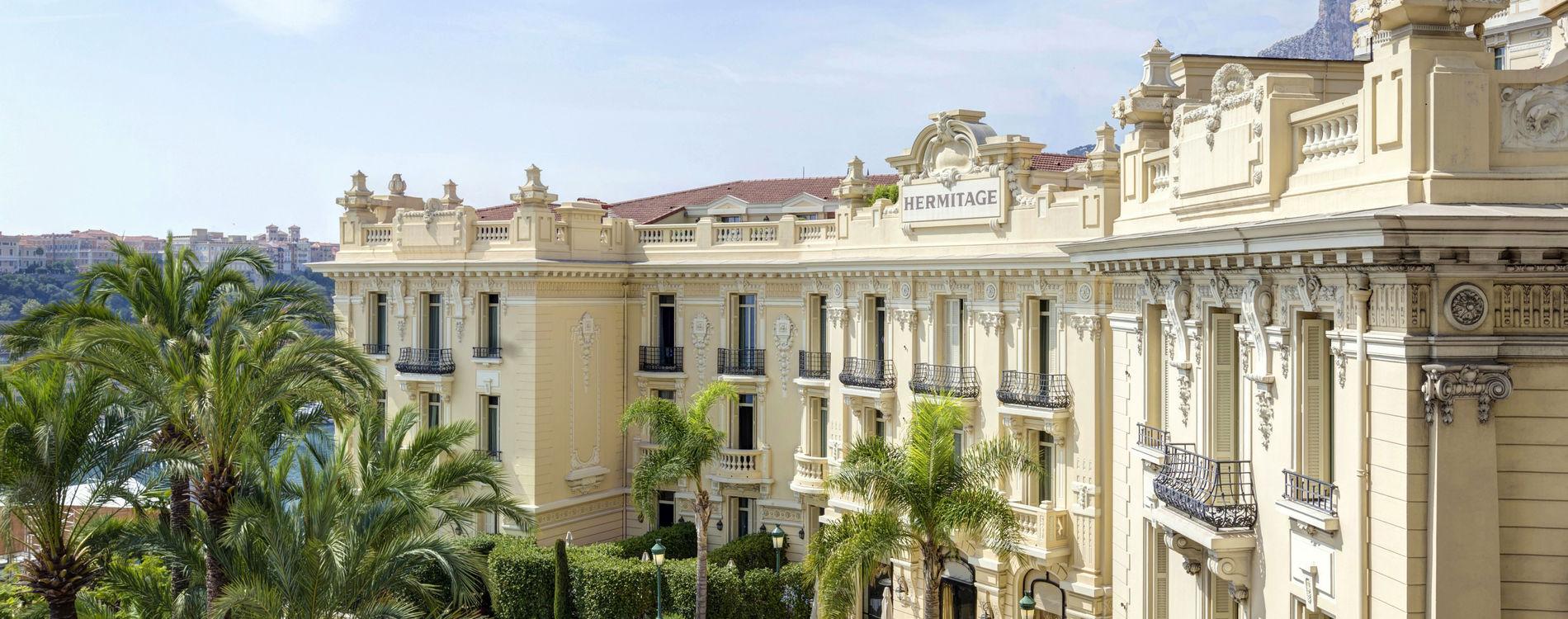 Hôtel Hermitage - Façade Excelsior