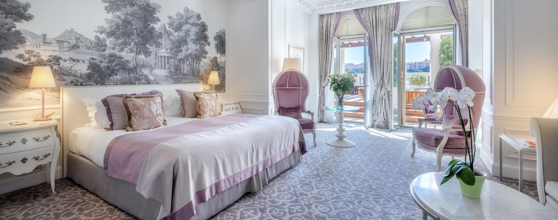 Hôtel Hermitage - Junior Suite Jacuzzi - Vue Mer