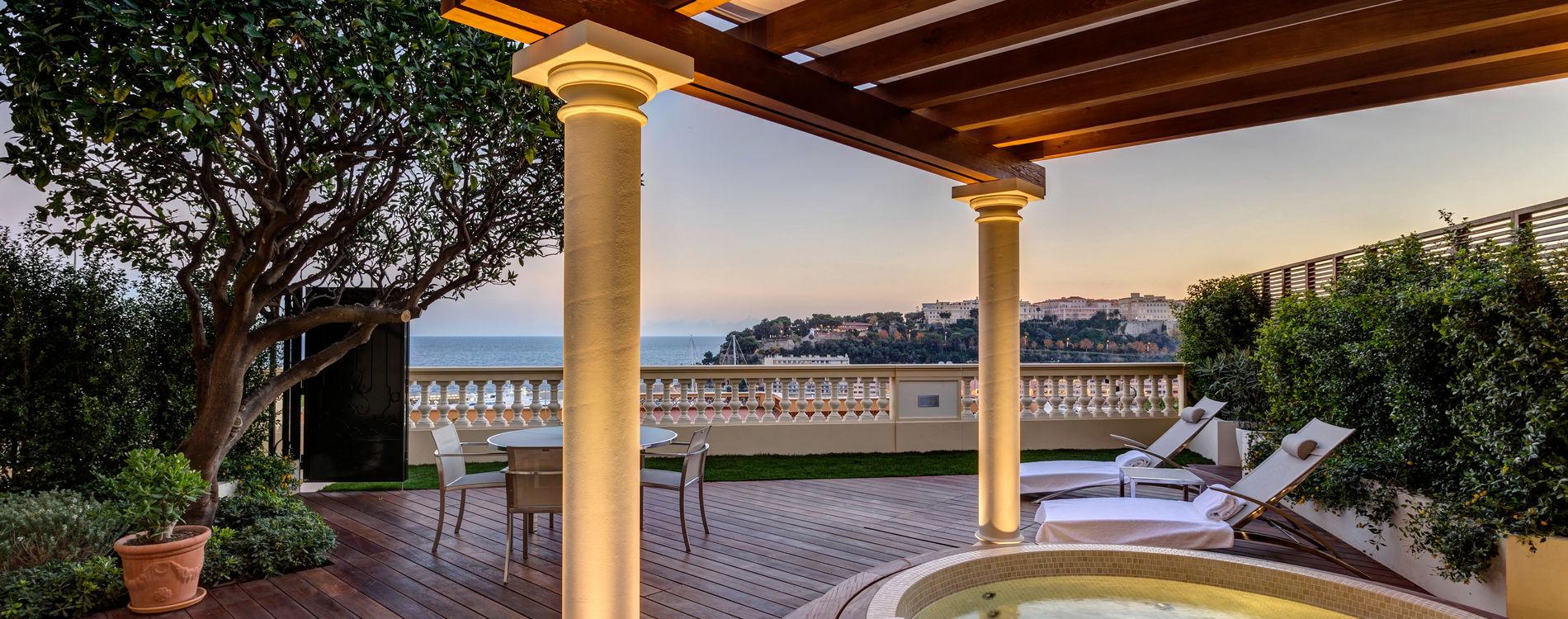 Hôtel Hermitage - Junior Suite - vue Mer avec Jacuzzi