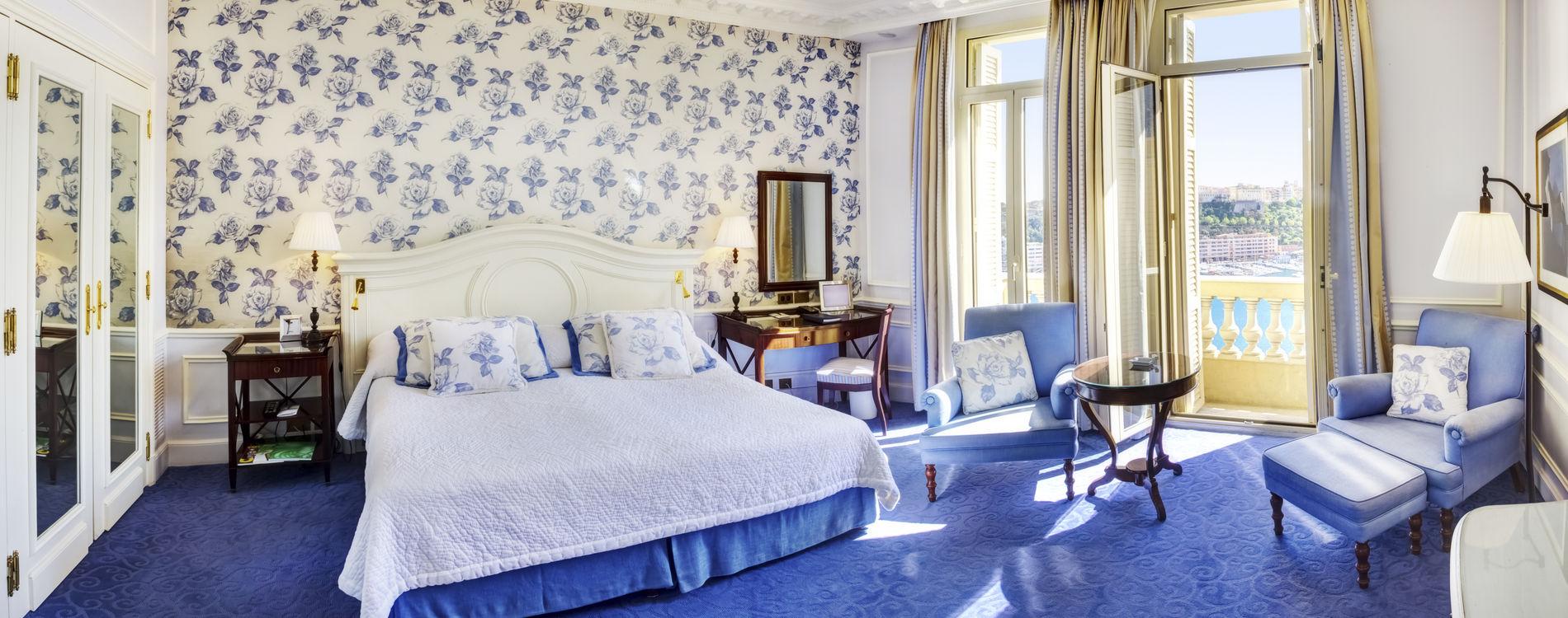 Hôtel Hermitage - Junior Suite - vue mer - Chambre