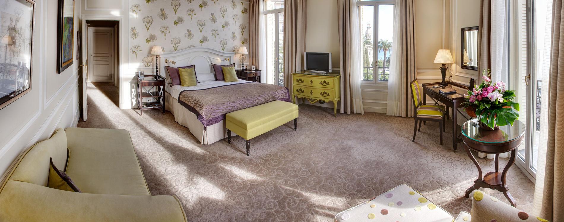 Hôtel Hermitage - Suite vue Mer _ Chambre