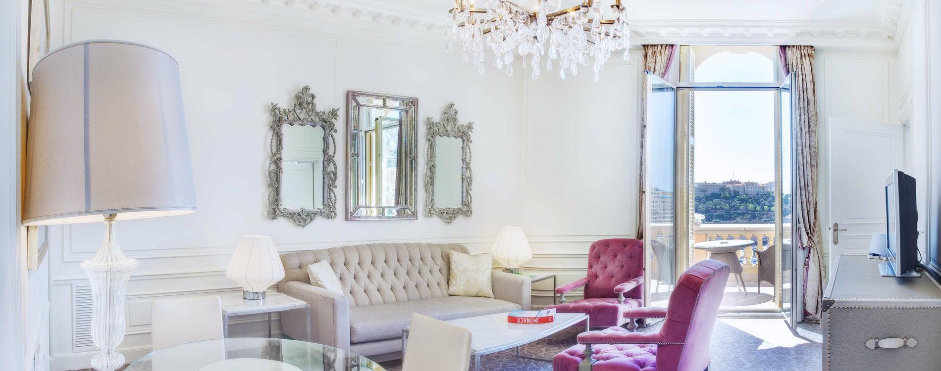 Hôtel Hermitage - Suite Chambre Simple- vue mer avec terrasse
