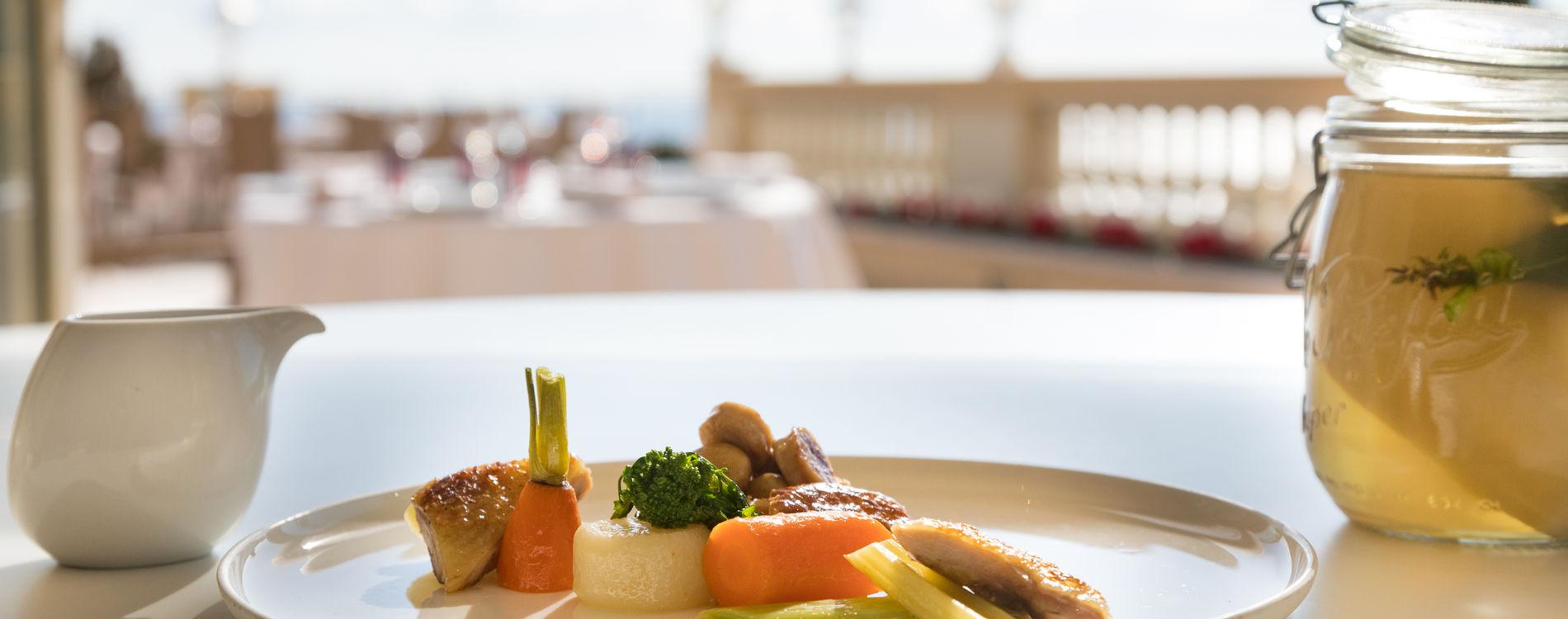 Hôtel Hermitage Monte-Carlo - Restaurant Le Vistamar - Terrasse