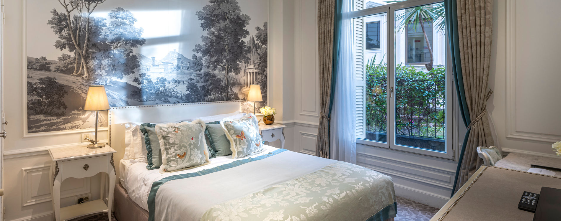 Hôtel Hermitage - Chambre Queen Supérieure