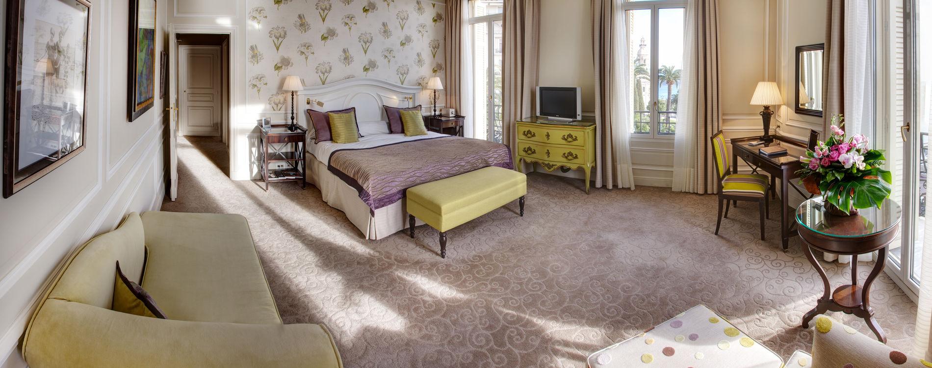 Hôtel Hermitage - Double Suite - vue mer