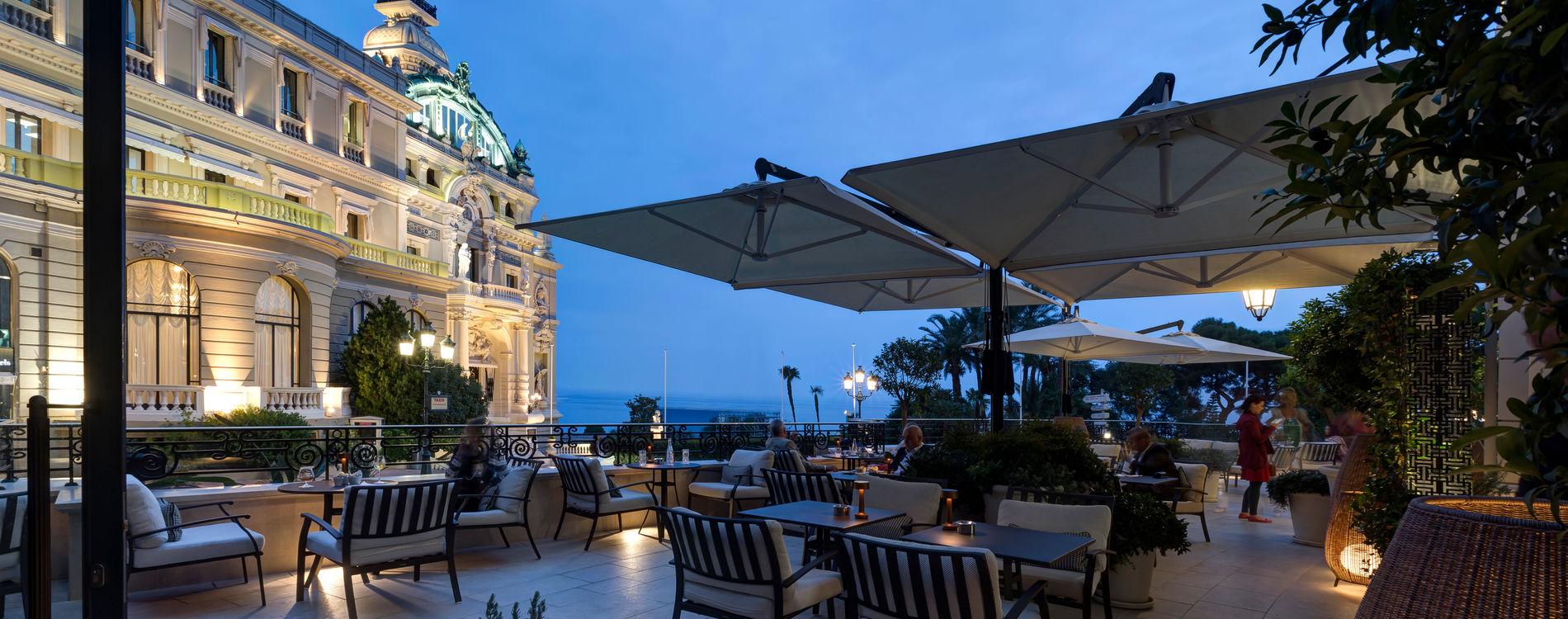 Hôtel de Paris - Terrasse du Bar Americain