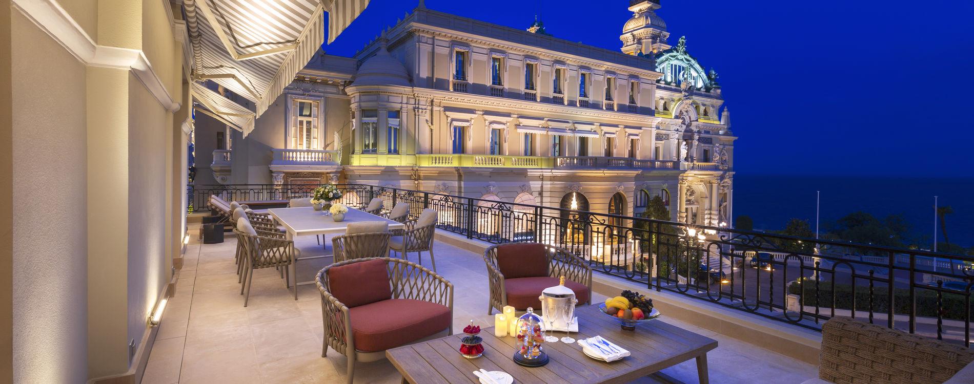 Diamond Suite – Terrasse mit Meerblick   Hôtel de Paris Monte ...