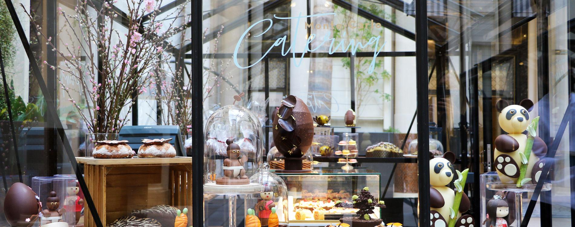 Boutique éphémère Patio de l'Hôtel de Paris Monte-Carlo