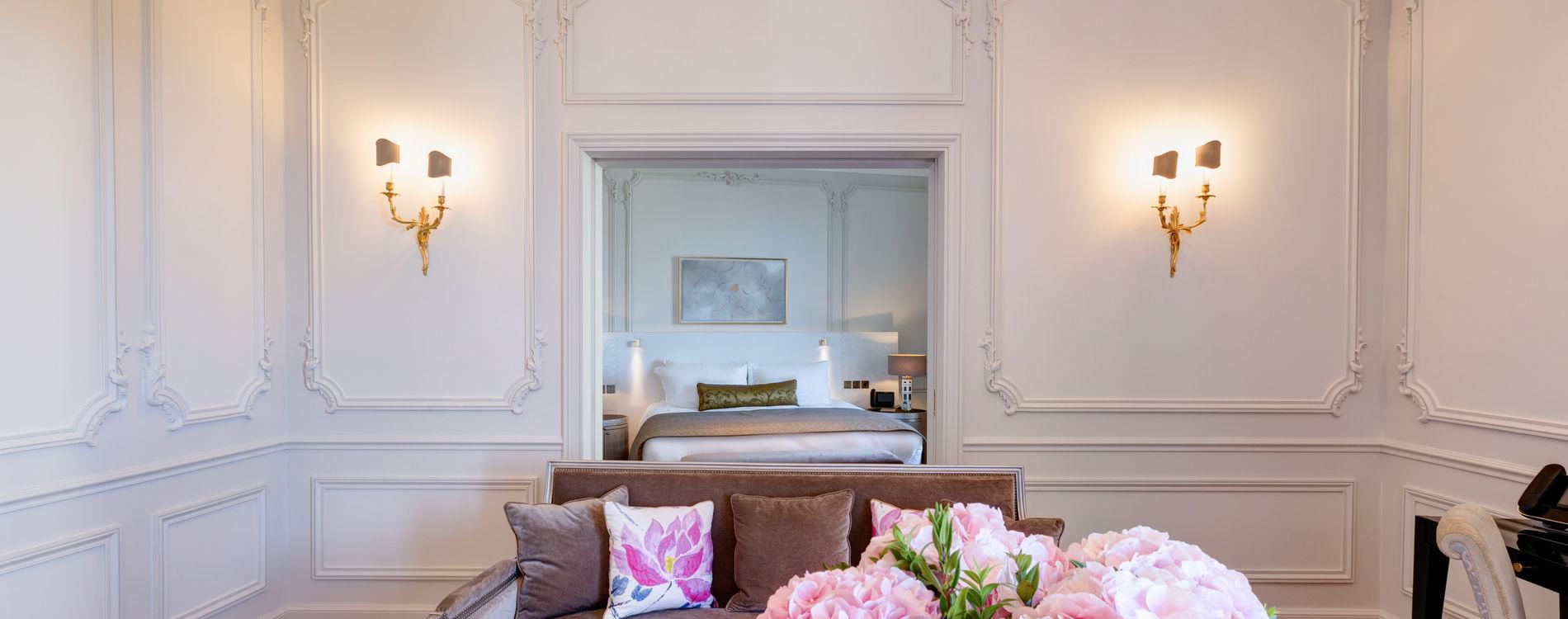 Hôtel de Paris - Double Suite vue mer