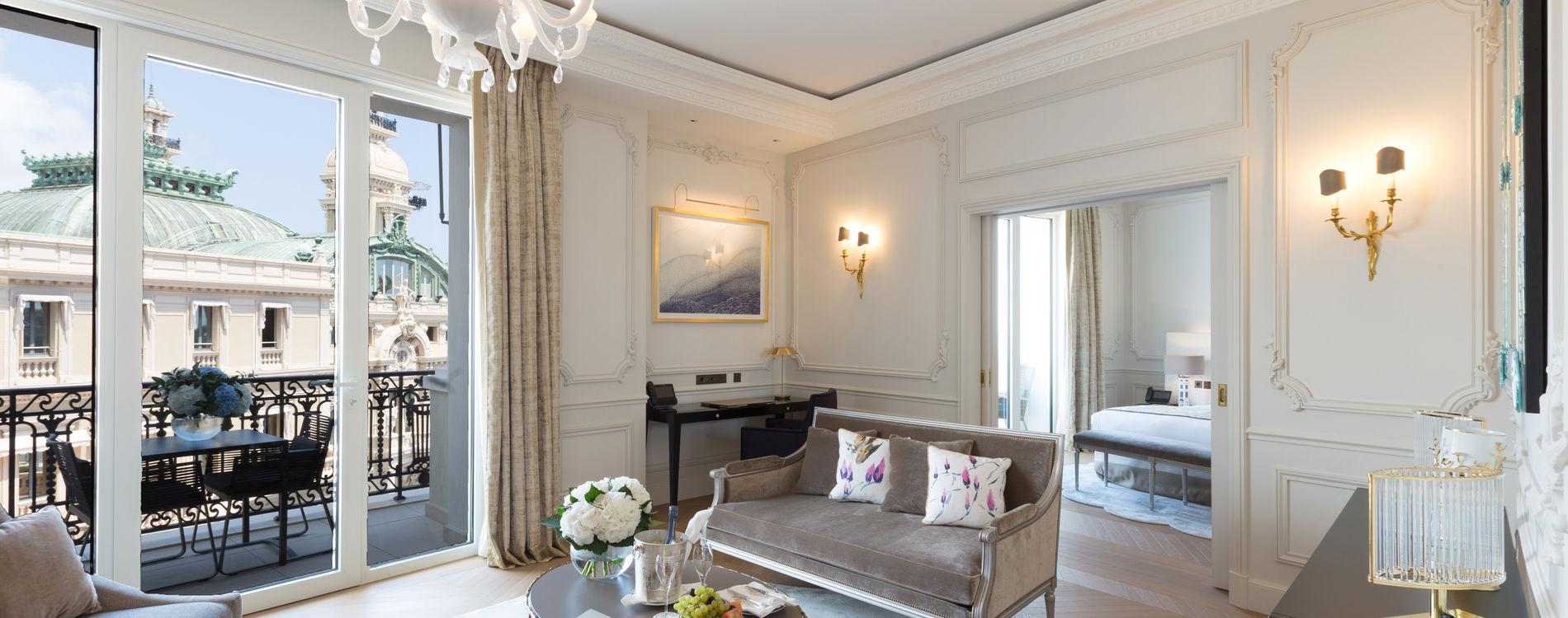 Hôtel de Paris - Suite vue mer - Terrasse - Accueil VIP - 397-398