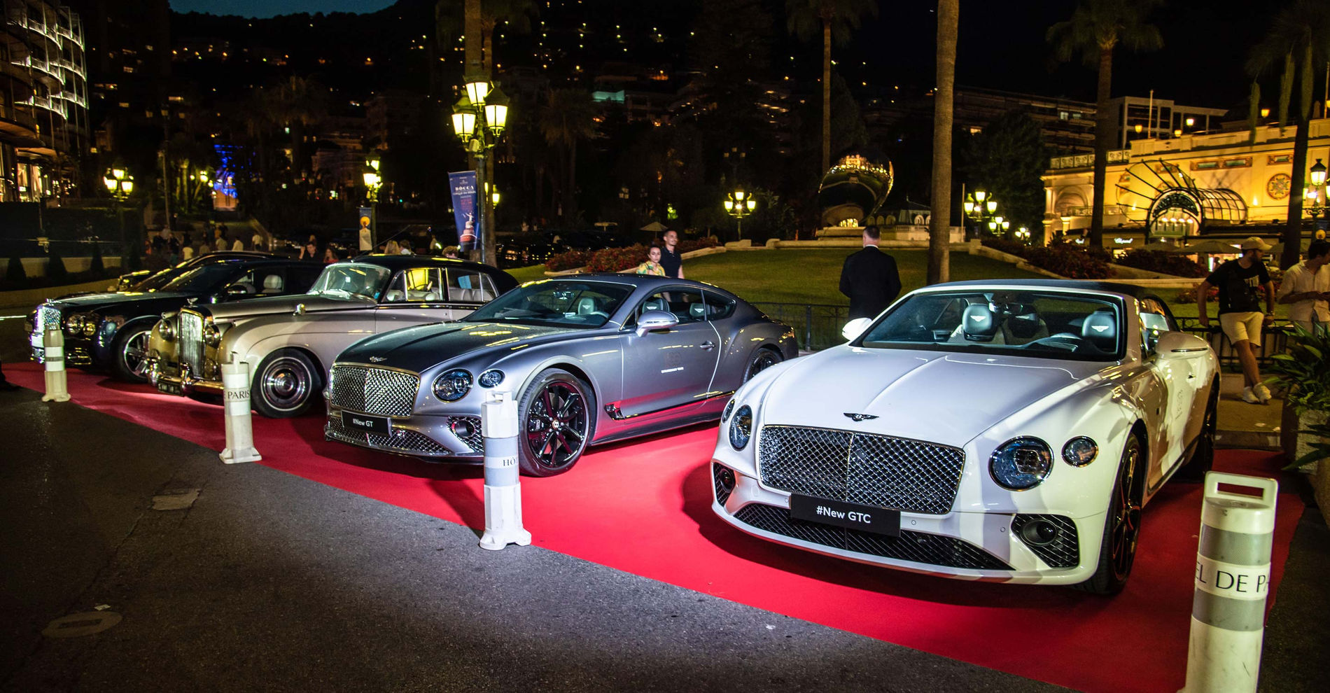 100 ans Bentley Monaco