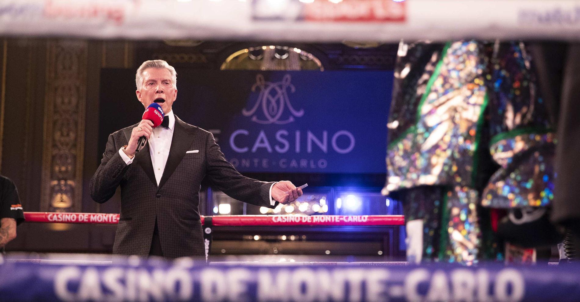 Monte-Carlo Boxing Bonanza Casino de Monte-Carlo Monaco Michael Buffer