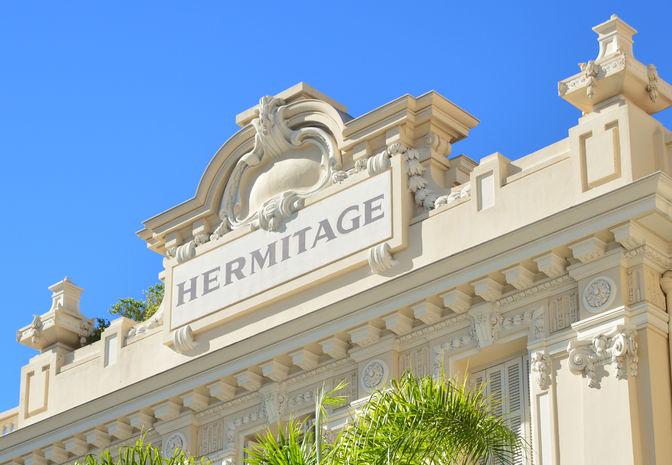 Hôtel Hermitage - Façade