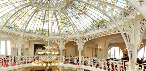 Hôtel Hermitage - Lobby Jardin d'hiver