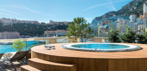 Thermes Marins Monte-Carlo - Jacuzzi