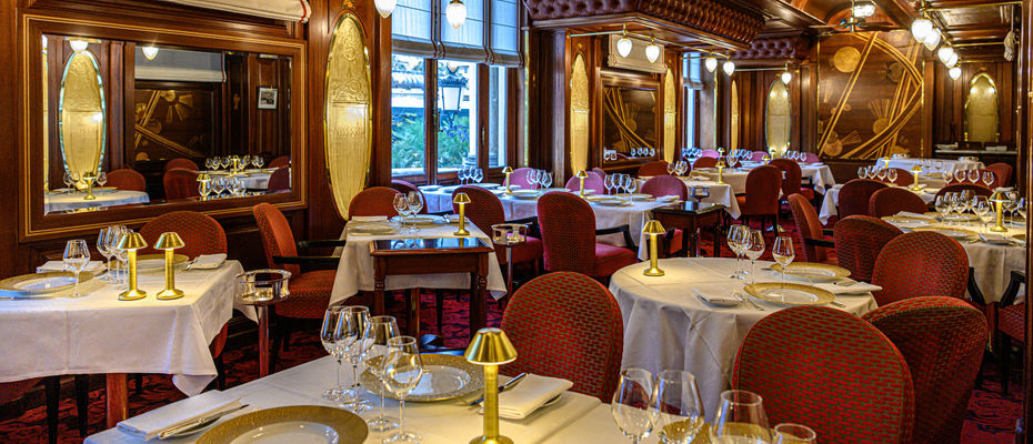 Casino de Monte-Carlo - Restaurant le Train Bleu - 2019