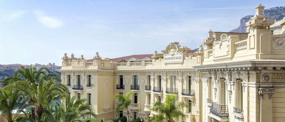 Hôtel Hermitage Monte-Carlo - Façade Excelsior