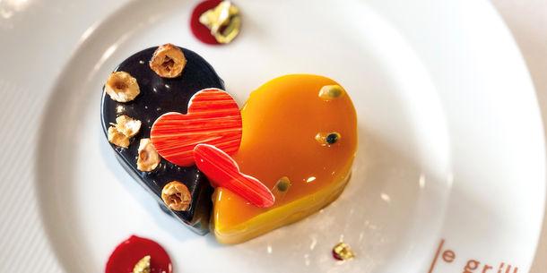 Dessert Cœur Saint Valentin Le Grill 2021