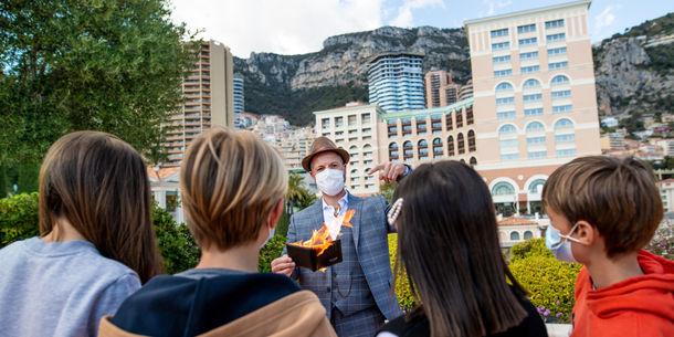 Monte-Carlo Bay - Cours de magie pour les enfants - Simeon Wolfgang - Monaco