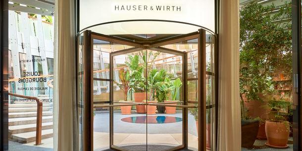 Hauser & Wirth - Vue galerie Monaco - One Monte-Carlo