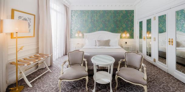 Hôtel Hermitage - Chambre King Supérieure – vue ville ou cour