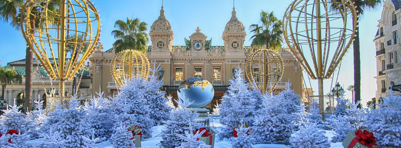 Place du Casino - Décorations Fêtes de Fin d'Année 2019